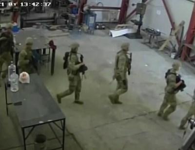 Командоси нахлуха в цех до Чешнегирово на 11 май т.г.