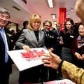 Кметът на София Йорданка Фандъкова и посланикът на Китай Джан Хайджоу (вляво). Снимки Румяна Тонева