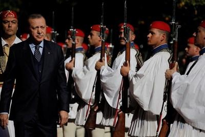 Турският президент Реджеп Ердоган  СНИМКА: Ройтерс