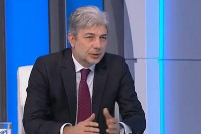 Министърът на околната среда и водите Нено Димов Кадър: БНТ