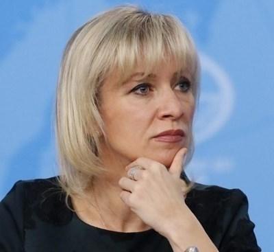 Мария Захарова СНИМКА: Ройтерс