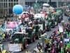 Близо 18 000 души протестираха в Берлин срещу аграрната политика