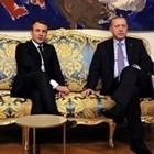 Френският президент Еманюел Макрон и турския му колега - Реджеп Ердоган СНИМКА: Ройтерс