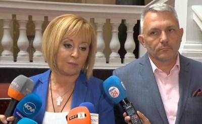 Преизчисляване на пенсиите договори Манолова с партията на Слави