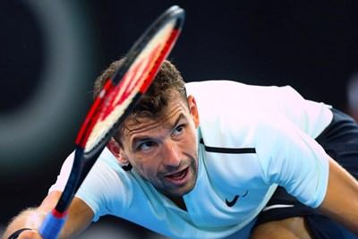 Статистик предвиди, че Димитров ще оглави световната ранглиста. Снимка РОЙТЕРС