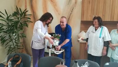 Измиха ритуално ръцете на началника на АГО д-р Милатович