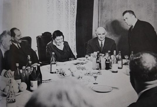Храната на ЦК на БКП по време на Чернобил
