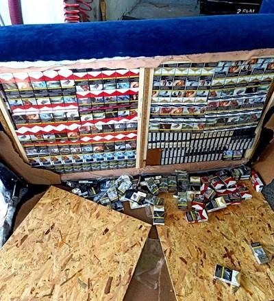 Контрабандни цигари. Снимка: Архив