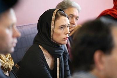 Премиерката на Нова Зеландия Джасинда Ардърн  СНИМКА: Ройтерс