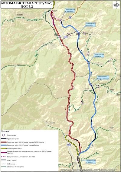 """Само 25 км остават от """"Струма"""", но те са най-сложни и спорни"""