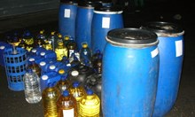 Близо 300 литра нелегален алкохол откриха в мазе в Игнатиево