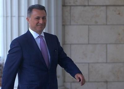 Никола Груевски  СНИМКА: Ройтерс