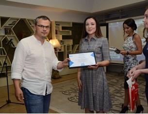 Виктор Иванов с отличие за честна журналистика