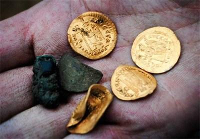 Монетите имат голяма стойност, равняват се на 900 бронзови византийски монети. Снимка Архив