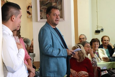 Даниел Панов представи пред пенсионерите планираните дейности за следващите 4 г.