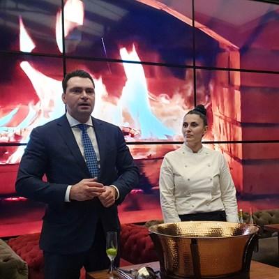 Паргов избра за традиционната си среща с медиите ресторант с шеф готвач Сидония Радева.
