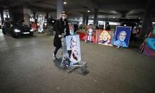 Изложба на паркинг на летище в Германия