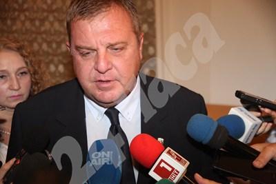 Красимир Каракачанов в парламента СНИМКИ: Румяна Тонева СНИМКА: 24 часа