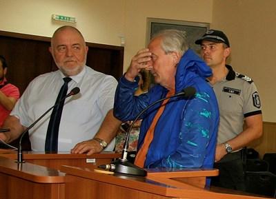 Георги Близнаков на едно от съдебните дела