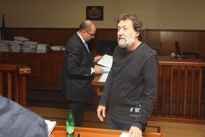 Николай Банев (на преден план)  Снимка: Архив