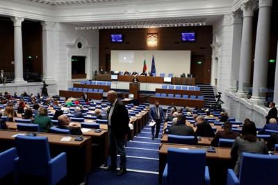 Около 2 часа продължиха дебатите по приемането на Закона за бюджета на зравната каса за 2021 г. СНИМКА: АРХИВ
