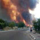 Пожарът в Старосел е овладян.
