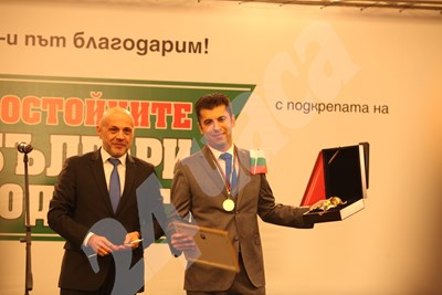 Томислав Дончев и Кирил Петков СНИМКА: 24 часа