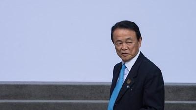 """Вицепремиерът на Япония Торо АЕсо първи спомена за проклятието """"40""""."""