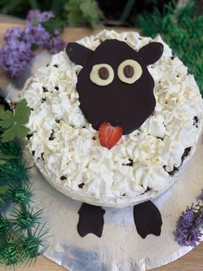 """Гергьовденска торта """"Овца"""""""