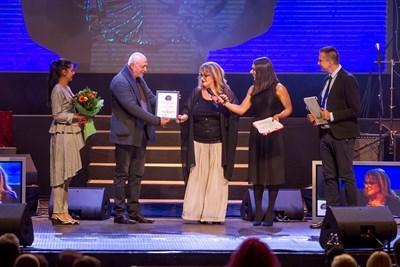 Маргарита Хранова получи голямата награда от фестивала миналата година.