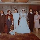 Снимка от сватбата на Маруся и Владимир Живков.
