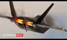 F-22 raptor изтребител пето поколение