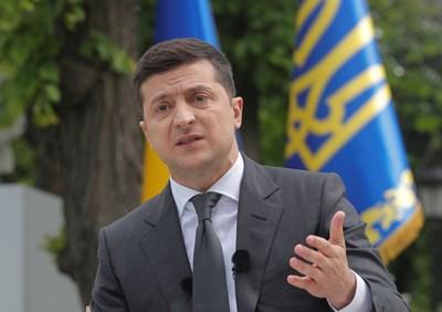 Президентът на Украйна Володомир Зеленски СНИМКА: РОЙТЕРС