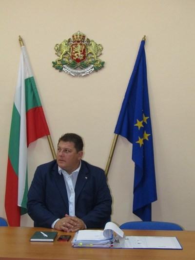 Зам.-областният управител Живко Желязков СНИМКА: Дияна Райнова