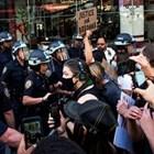 Протестиращи в Ню Йорк СНИМКА: Ройтерс