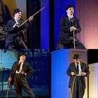 Мариан Бачев излиза като Чарли Чаплин в зала 1 на НДК
