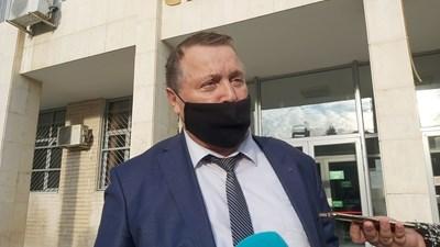 Адвокат Маньо Алексиев. СНИМКА: Антоанета Маскръчка