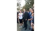 Радев поставил пред Ердоган въпроса за имотите на тракийските бежанци (Обновена, снимки)