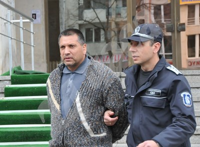 Михаил Щерионов по време на разследването срещу него през 2012 г. Снимка: 24 часа СНИМКА: 24 часа