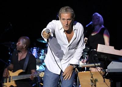 Майкъл Болтън пя в България точно преди 10 години. СНИМКА: КРИСТИНА ЦВЕТКОВА