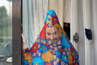 Защитни костюми срещу COVID-19 в Полша Снимка: Ройтерс