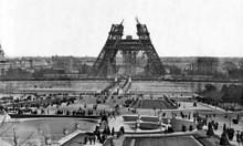 Айфеловата кула на 130 години! В началото я наричат грозен гръмоотвод и много жалка улична лампа
