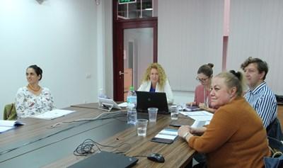 Заместник-министърът на регионалното развитие и благоустройството Деница Николова по време на онлайн заседание на Съвместния комитет за подготовка на новия програмен период 2021-2027 г. Снимки: МРРБ