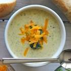 Крем супа с броколи