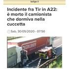 Факсимиле от сайта Adige.it