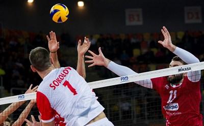 """Соколов изглежда като единственият играч на """"Кучине Лубе"""", който си заслужава заплатата."""