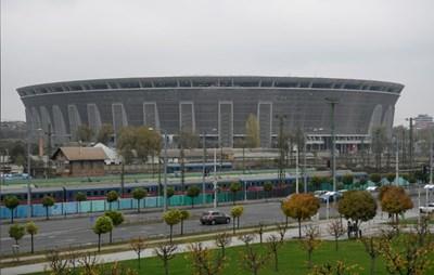 Новият национален стадион в Будапеща бе открит преди броени дни. СНИМКА: РОЙТЕРС