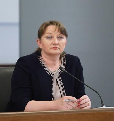 Министърът на труда и социалната политика Деница Сачева СНИМКА: Правителствена информационна служба