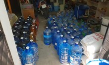 Откриха тон и половина нелегален алкохол в Аксаково