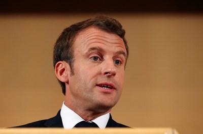 Френският президент Еманюел Макрон в Женева СНИМКА: Ройтерс